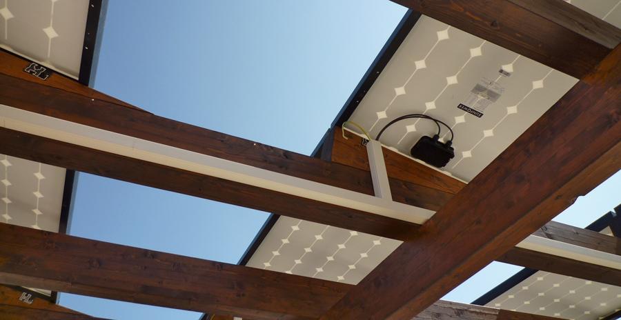 Particolare Impianto Fotovoltaico